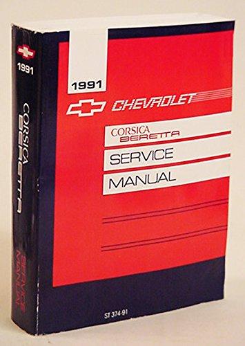 1991 Chevrolet Corsica Beretta Service Manual