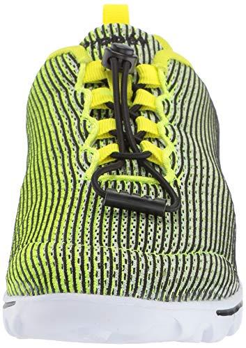Women's Xpress EVA Black Propét citron Walking TravelActiv Sneakers Mesh FBnSw