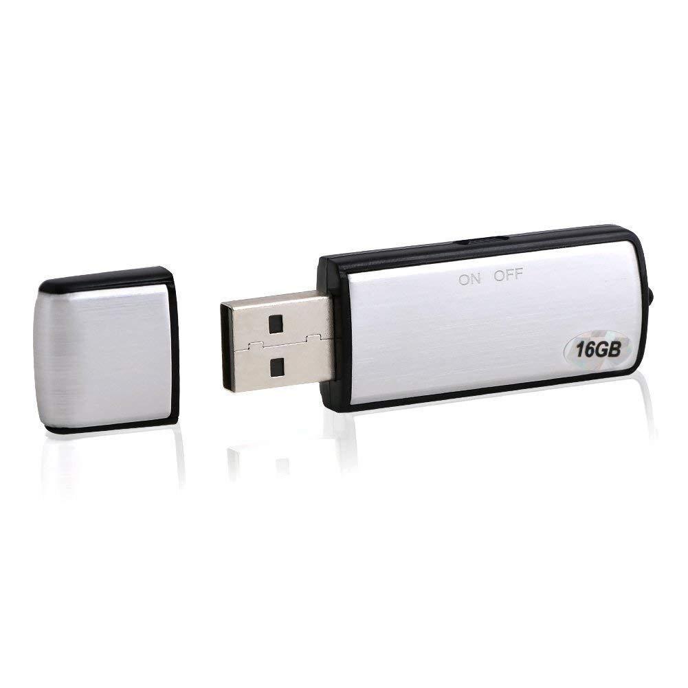 Vicloon 8GB Nascosta Registratore Vocale Penna - Multifunzionale USB Immagazzinamento Dittafono Media Player E5203-8_UK