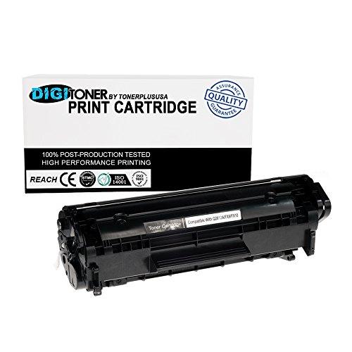 TonerPlusUSA 1PK Q2612A 12A Toner Cartridge For HP LaserJet 1018 3050 3052 3055 M1319F