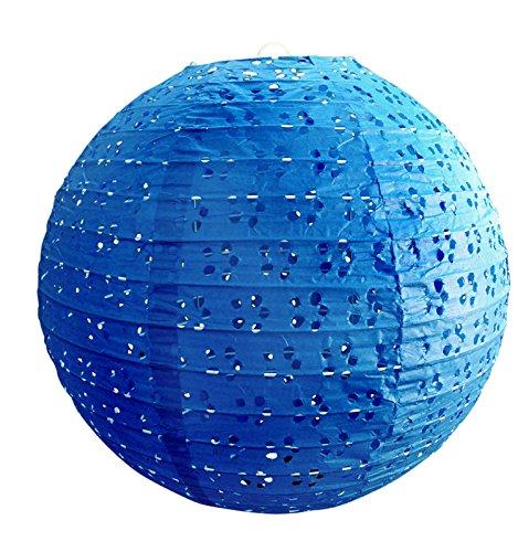 PaperLanternStorecom-24-Round-Eyelet-Lace-Look-Paper-Lantern-Dark-Blue