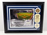 Highland Mint Yankee Stadium Photo with Coin and Dirt MLB COA Framed DA025241 - MLB Game Used