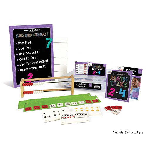 (ETA hand2mind Daily Math Fluency Kit with Number Strings, Math Talks (Grade)