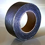 Klimapartner KSBB - Butyl Tape 75 mm x 10 m x 0.08 mm - Indoor & Outdoor Waterproof Stretchable Sealing Tape | Airtight Ducts