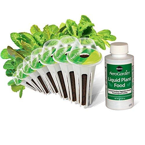 AeroGarden Mixed Romaine Seed Pod Kit (7-Pod) (Grow Domes Aerogarden)
