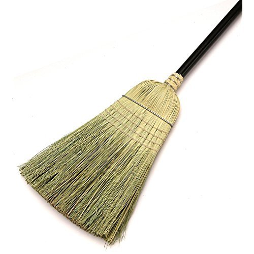 - Laitner Brush 469 Warehouse Corn Broom with Wire Band, 54-Inch Height