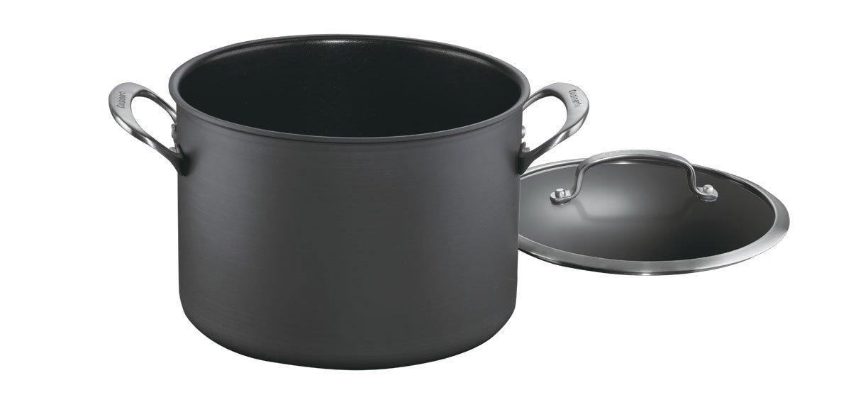 Cuisinart DSA66-24 Dishwasher Safe Hard-Anodized 8-Quart Stockpot with Cover