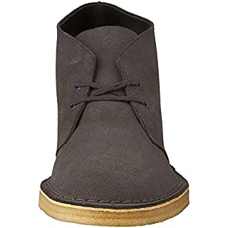 Clarks Men's Desert Chukka Boot, Charcoal Suede, 11.5 M US (B01AD19C0Y)   Amazon price tracker / tracking, Amazon price history charts, Amazon price watches, Amazon price drop alerts