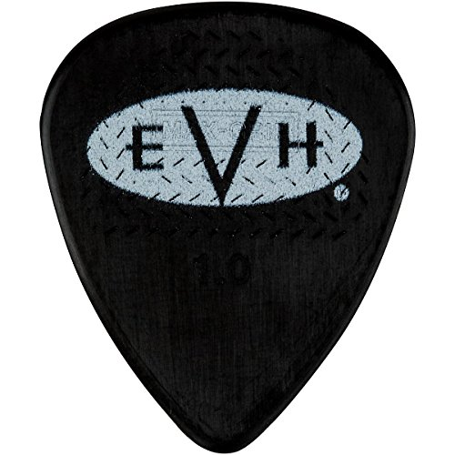 (EVH Signature Series Picks (6 Pack) 1.0 mm Black/White)