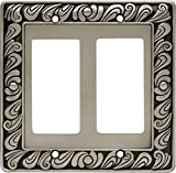 Franklin Brass 64037 Paisley Double Decorator Wall