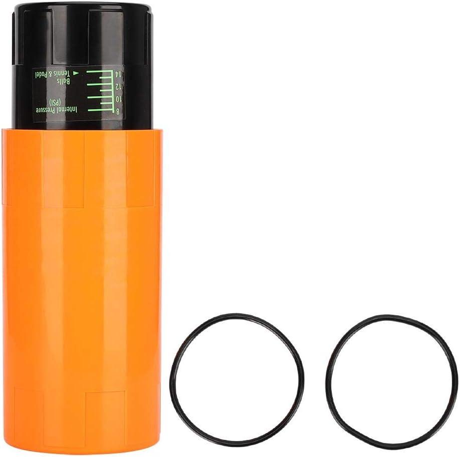 Fdit Tennis Ball Box Tennis Ball Presurizador Puede Mantener la presión Reparación Reparación Almacenamiento Lata Contenedor Accesorios Deportivos