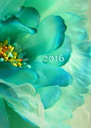 Read Online dicker TageBuch Kalender 2016 - FLOWER POWER: Endlich genug Platz für dein Leben! 1 Tag pro DIN A4 Seite (German Edition) pdf