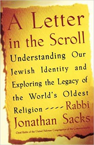A letter in the scroll understanding our jewish identity and a letter in the scroll understanding our jewish identity and exploring the legacy of the worlds oldest religion rabbi jonathan sacks 9780743267427 spiritdancerdesigns Images