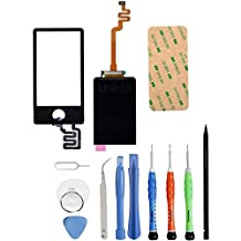 Unifix-Digitizer Touch Screen Lens Panel + LCD Display Screen for iPod Nano 7th Gen + Premium Tool Kit