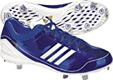 old adidas shoes - Adidas Mens adiZero Diamond King Low 14 M US Collegiate Royal/White/Old Gold