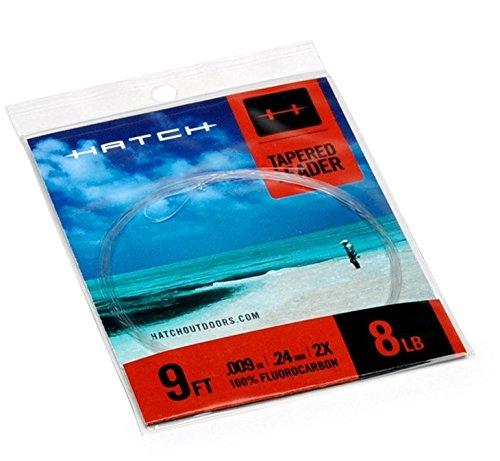 Hatch Saltwater Tapered Leader- 16lb - Series Fluorocarbon