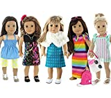Image of Doll Club of America 28 Piece Holiday Lot Fits 18-Inch American Girl Doll Clothes