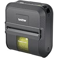 Brother Industries, Ltd - Brother RuggedJet RJ4030 Direct Thermal Printer - Monochrome - Mobile - Label Print - NO BATTERY, NO CABLES