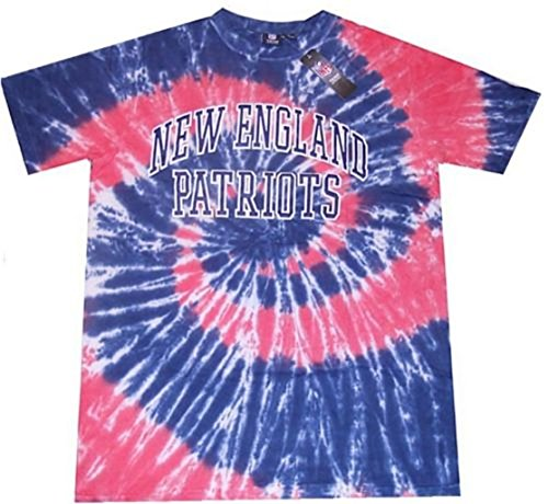 - New England Patriots NFL Mens Tie Dye Shirt Big & Tall Sizes (2XL)