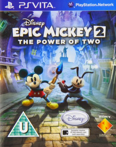 Epic Mickey 2: The Power of Two [UK Import] (Epic Mickey 2 Guide)