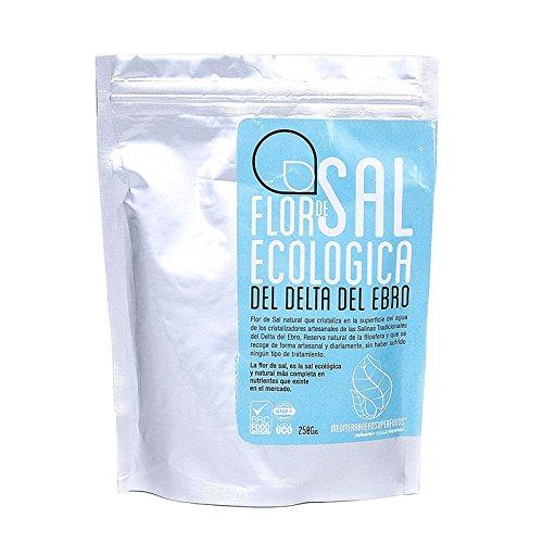 Energy Feelings Flor de Sal Ecológica Del Delta Del Ebro - 250 gr: Amazon.es: Salud y cuidado personal