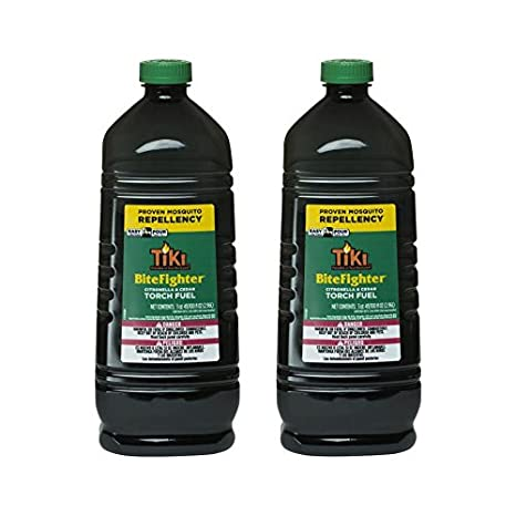 Tiki Brand Bitefighter Torch Fuel, 100 Ounces (2 pack)