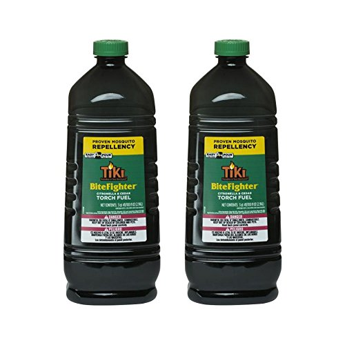 Tiki Torch Fuel - Tiki Brand Bitefighter Torch Fuel, 100 Ounces (2 pack)