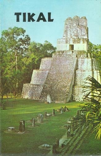 Tikal Ghia de las Antiguas Ruinas Mayas