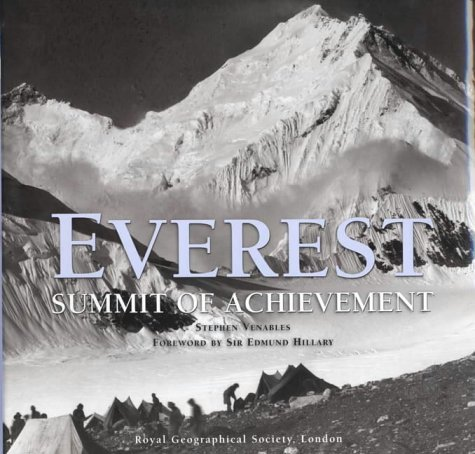 Everest: The Summit of Achievement by Stephen Venables (2003-04-07) ebook