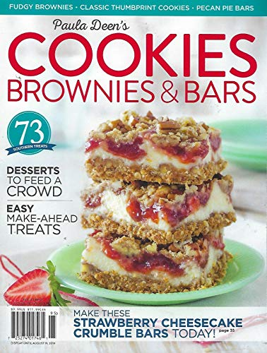 Paula Deen Cookies - Paula Deen's Cookies, Brownies & Bars Summer 2019 + FREE GIFT