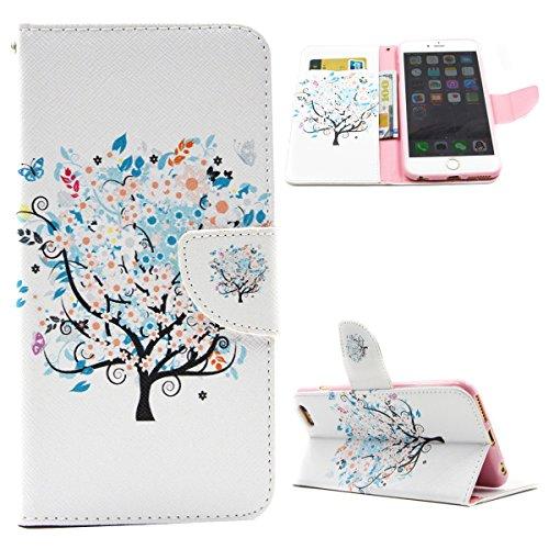 """IFEDA iPhone 6 PU Étui Housse en Cuir Coque Flip Wallet Cover Case pour iPhone 6 4.7"""" Étui de Protection avec Stand Magnétique"""