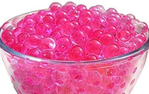 Rosa Intenso Cristal Agua Aqua Cuentas Gel Perla para el florero Planta Relleno Boda Cocina Hogar Decoraci/ón 1000 Pcs por boda Decor