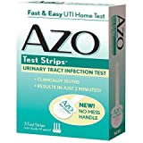 AZO Urinary Tract Infection Test Strips, Multi Pack of 3 ( 9 Count Total) AZO-6i