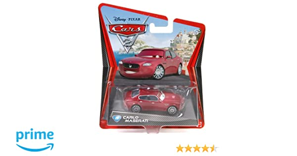 Disney / Pixar CARS 2 Movie 155 Die Cast Car Maserati by Cars 2: Amazon.es: Juguetes y juegos