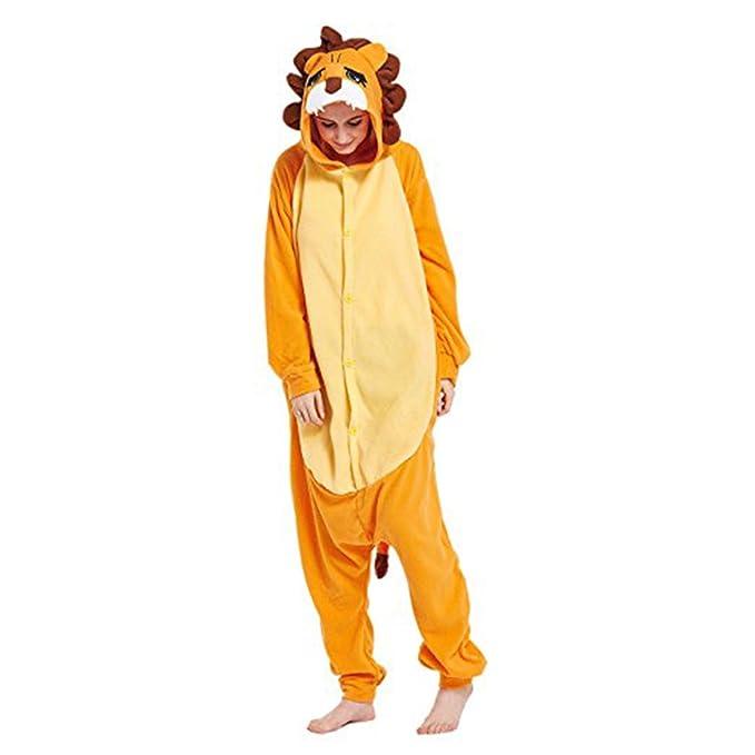 Casa Adulto Animal Licorne Pijamas Con Capucha Kigurumi Unisexo la Ropa de noche del Traje del