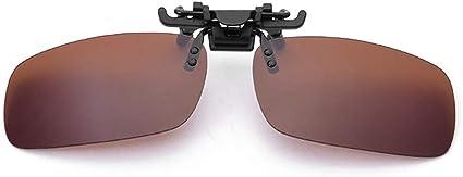 Clip on Flip Up Lunettes de soleil Ultra Violet Différentes Tailles UV400 polarisée Lentilles