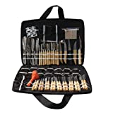 Soledi® (Pack of 80) Vegetable Fruit Food Carving Chisel Kitchen Stainless steel Shapping Tools Kit With Bag For Practice Family