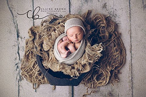 "jute layer prop for newborn photography, 2 size options (medium, 30""x48"")"