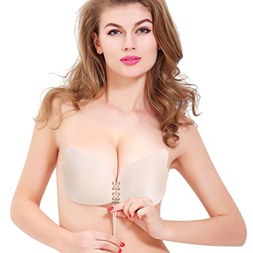 1dbd9dcfe1e Best Value · Strapless Women Shaped Adhesive Silicon product image