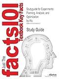Studyguide for Experiments, Cram101 Textbook Reviews, 1478483008