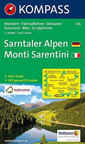Sarntaler Alpen/Monti Sarentini 1 : 25 000: Wandern / Rad / Skitouren. Escursioni / bike / sci alpinismo. GPS-genau Landkarte – Folded Map, 5. Juli 2017 KOMPASS-Karten GmbH 3854913400 Europa physisch