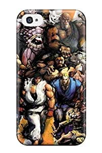 High-quality Durable Protection Case For Iphone 4/4s(street Fighter)