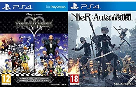 Kingdom Hearts HD 1.5 + 2.5 Remix & Nier Automata: Amazon.es ...