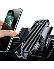 Andobil Car Phone Holder [Upgraded Sturdy Metal Clip] Ultimate Handsfree Air Vent Phone Holder, Universal Cell Phone Cradle Compatible with iPhone 13,12 Pro Max, Samsung S21 S20 S10 Note 20 and More