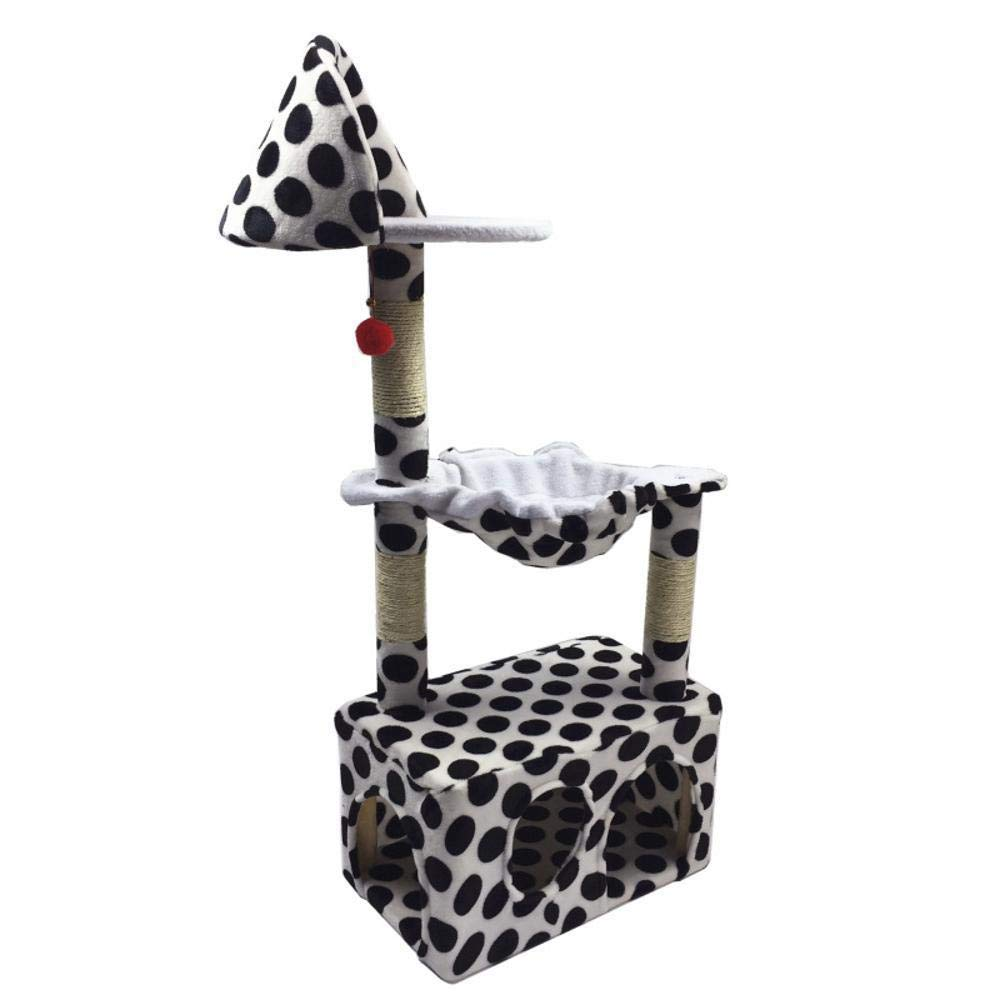 A Daeou cat trees towers Pet cat toy Platform grasping column grab board furniture 51  31  119cm sheet rope Flannel