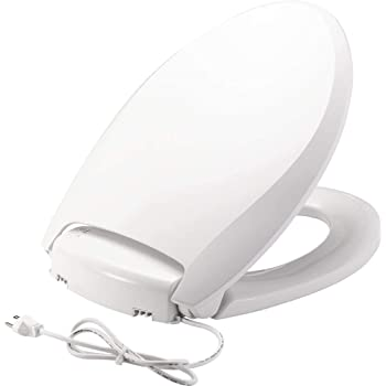 Kohler K 4108 0 C3 230 Elongated Bidet Toilet Seat With