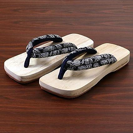 data di rilascio d5ac3 f6b3e XIAMUO In stile giapponese zoccoli in legno maschio e ...