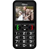 Teléfono Móvil para Personas Mayores con Teclas Extra