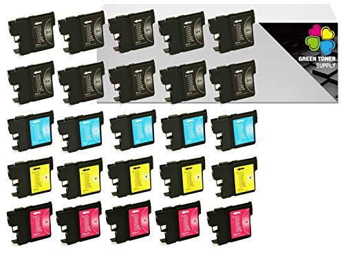 (GTS Compatible LC61 Inkjet Cartridge Replacement LC-61 Brother All-in-One [LC613PKS/LC612PKS] DCP-165C DCP-385C DCP-585CW MFC-290C MFC-490CW MFC-5490CN MFC-5890CN MFC-6490CW MFC-790CW (10B5C5Y5M))