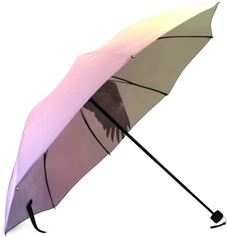 Personalized Flight Foldable Umbrella Rain Compact Travel Umbrella